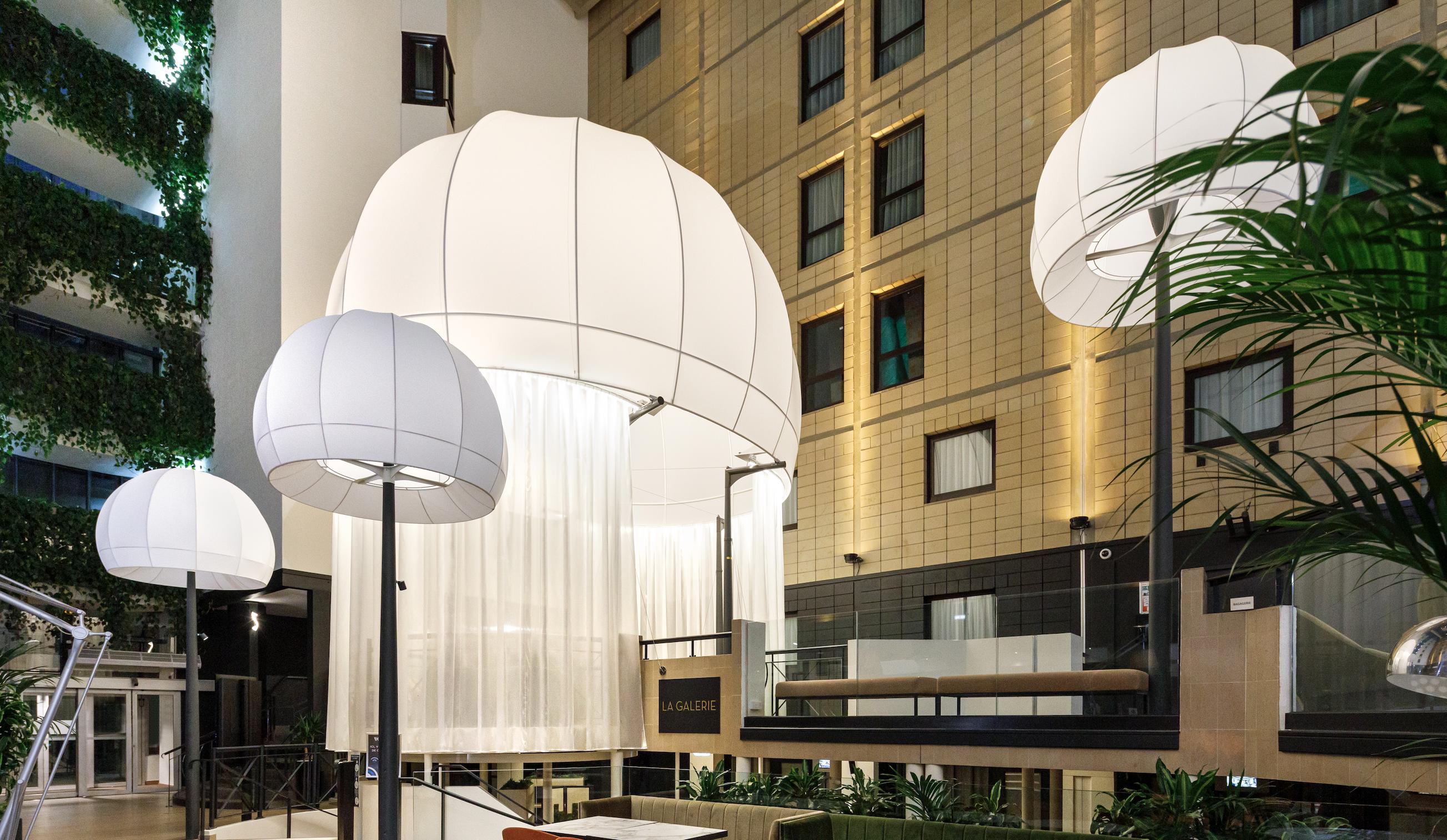 Luminaire hotel hopfab